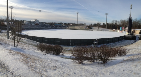 CMC-NorthEast Stadium snow panorama-2