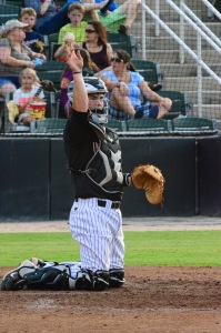 Raise your hand if you lead the South Atlantic League in triples.