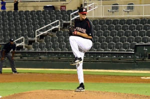 Connor Walsh pitching black