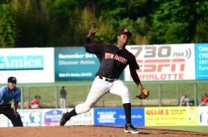 Jose Brito pitching