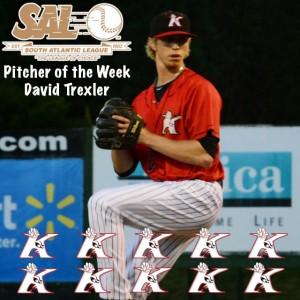 Trexler SAL Pitcher of the Week